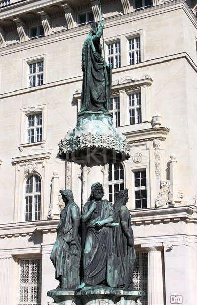 Austriabrunnen fountain, Vienna Stock photo © alessandro0770
