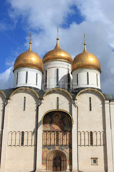 大聖堂 モスクワ クレムリン ロシア 空 クロス ストックフォト © alessandro0770
