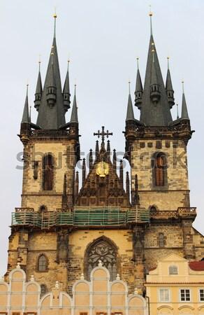 Kilise bayan Bina güneş seyahat mimari Stok fotoğraf © alessandro0770