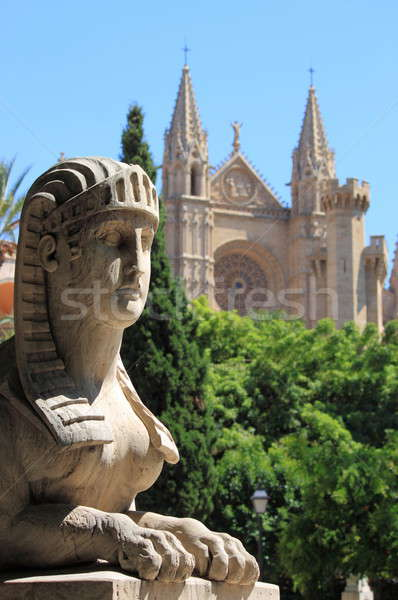 Urban scenic in Palma de Mallorca Stock photo © alessandro0770