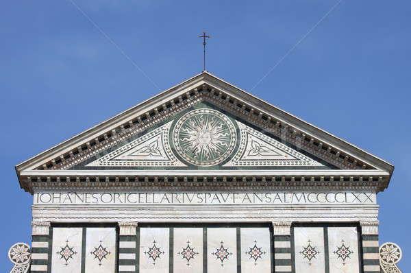 Santa Maria Novella church in Florence Stock photo © alessandro0770