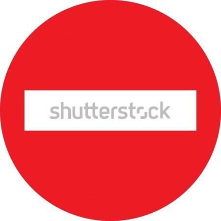 No entry sign Stock photo © alessandro0770