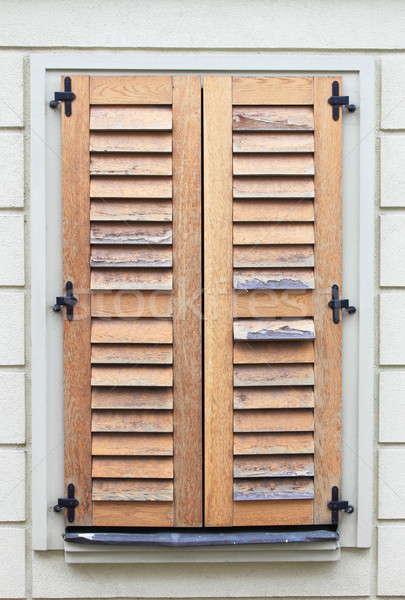 Italian style shutters Stock photo © alessandro0770