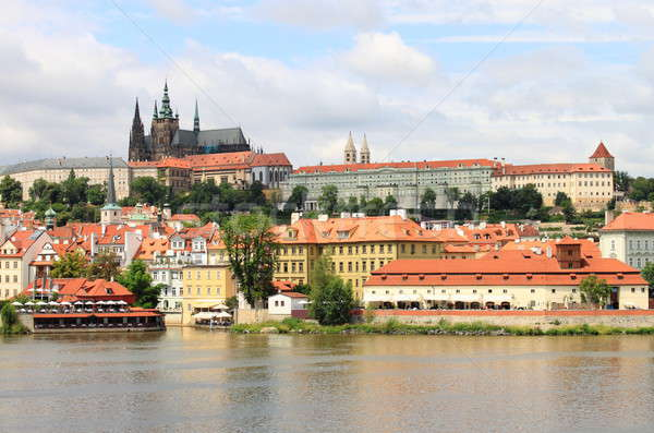 Stock photo: Landscape view of Prague Castle