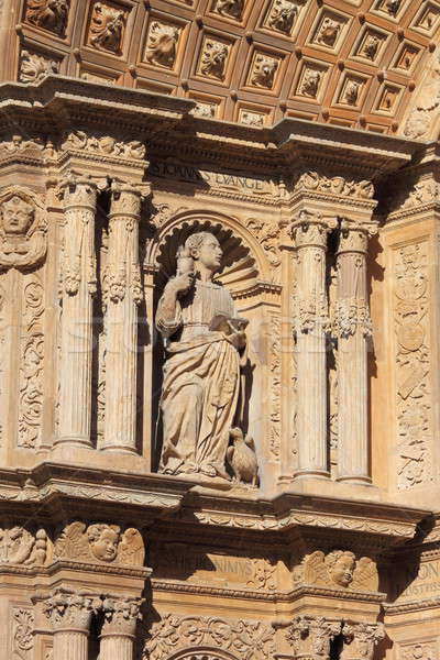 Basreliefs in Palma de Mallorca cathedral Stock photo © alessandro0770