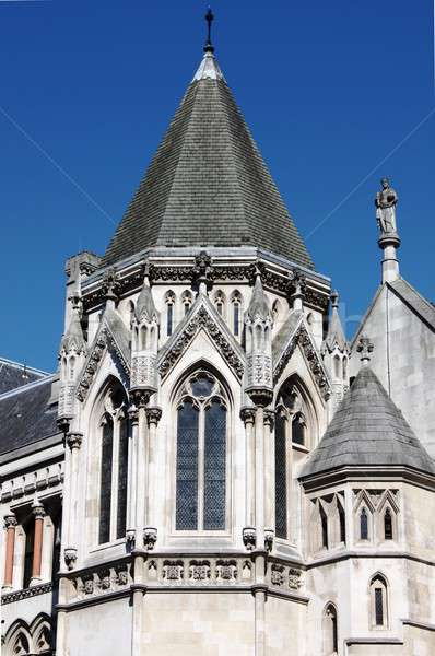 Stock photo: Tower of Royal Court of Justice, London