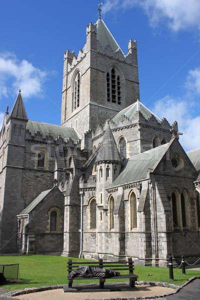 大聖堂 ダブリン アイルランド 市 緑 教会 ストックフォト © alessandro0770