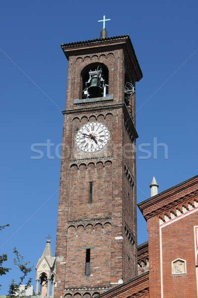 Belfry of Saint Eufemia church, Milan Stock photo © alessandro0770