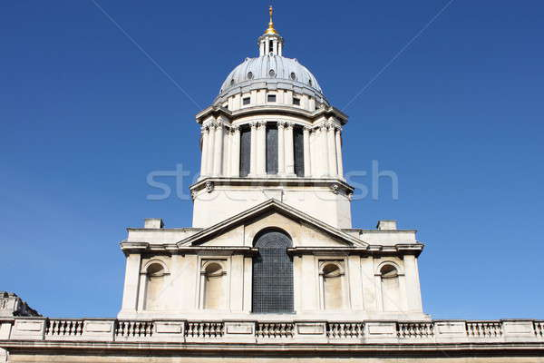 Clock tower of Royal Naval College Stock photo © alessandro0770