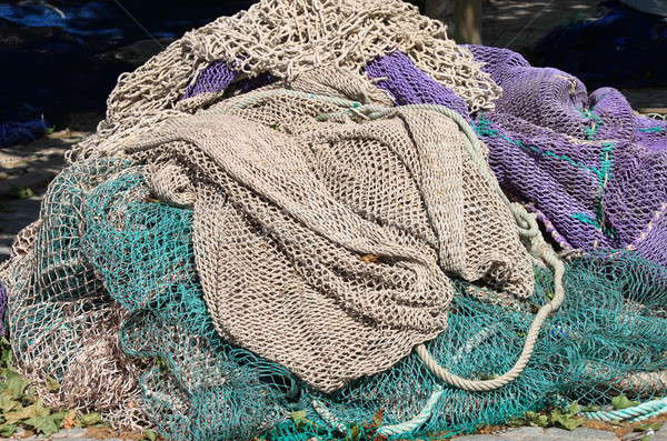 Fishing nets Stock photo © alessandro0770