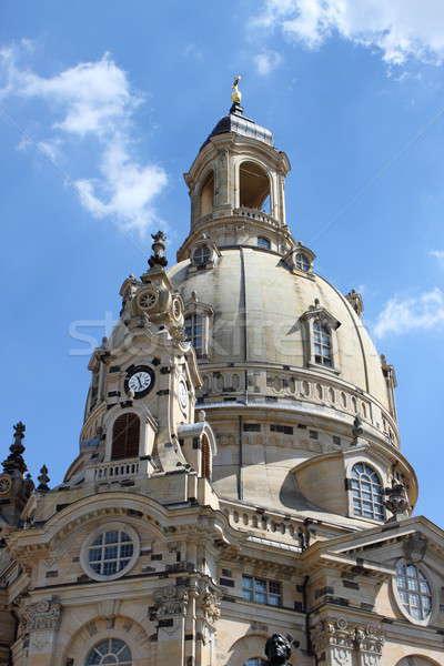 Frauenkirche dome Stock photo © alessandro0770
