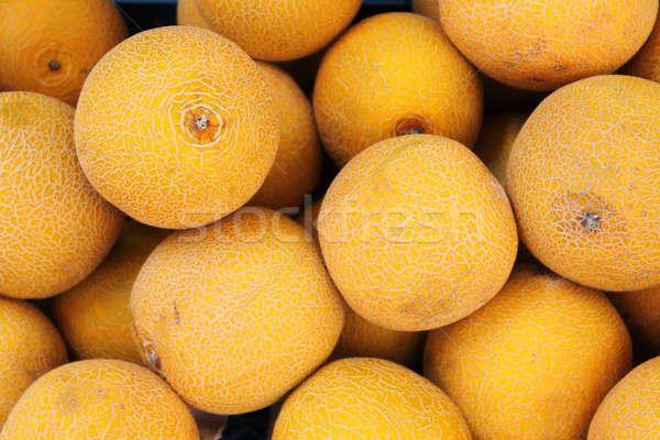 ストックフォト: 新鮮な · 黄色 · 食品 · フルーツ · 工場 · 野菜