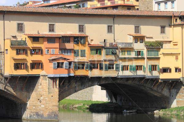 Florence részlet Olaszország víz ablak művészet Stock fotó © alessandro0770