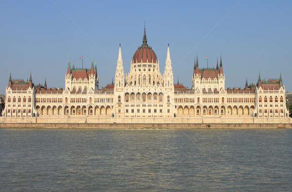 Parlement Hongrie Budapest bâtiment paysage urbaine Photo stock © alessandro0770