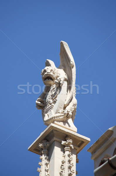 Gargoyle in City Hall building of Palma de Mallorca Stock photo © alessandro0770