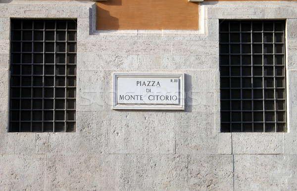Italiana parlamento piazza Roma Italia costruzione Foto d'archivio © alessandro0770