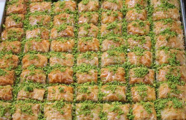 ラザニア イタリア語 トマトソース 食品 背景 鶏 ストックフォト © alessandro0770