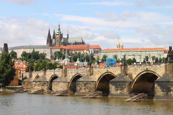 Charles Bridge in Prague Stock photo © alessandro0770