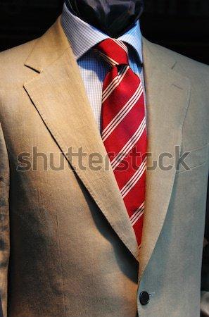 Zarif erkekler takım elbise manken iş adam Stok fotoğraf © alessandro0770