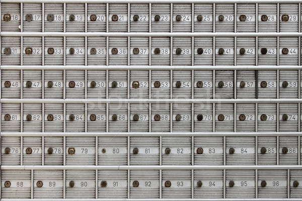Sûr dépôt cases banque agence argent Photo stock © alessandro0770