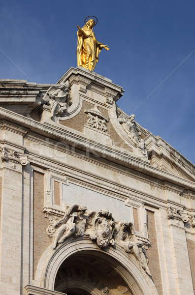 Melekler bazilika gökyüzü Bina manzara Stok fotoğraf © alessandro0770