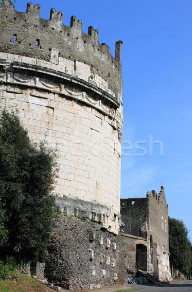 мавзолей Рим Италия дороги здании искусства Сток-фото © alessandro0770