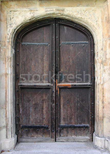 Médiévale porte d'entrée centre-ville Londres maison ville Photo stock © alessandro0770