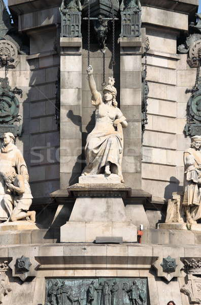 Statue of Isabella I of Castile Stock photo © alessandro0770