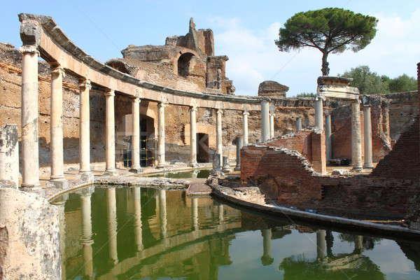 Villa Adriana near Rome Stock photo © alessandro0770