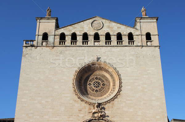 Stock photo: Basilica of St. Francis of Assisi in Palma de Mallorca
