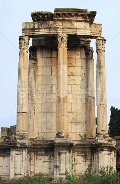 храма римской форуме Рим Италия архитектура Сток-фото © alessandro0770