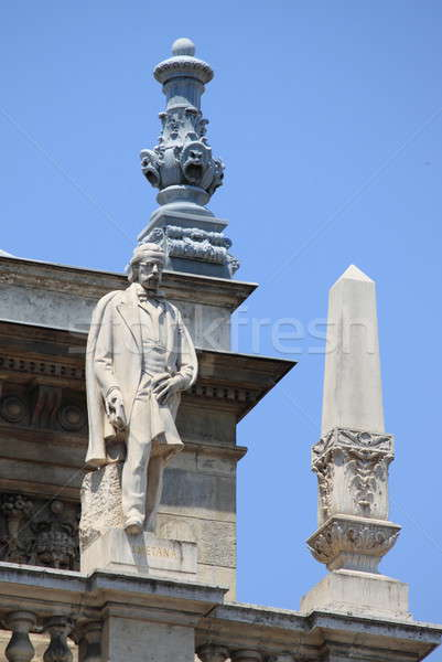 Statue of Bedrich Smetana in Opera House of Budapest Stock photo © alessandro0770