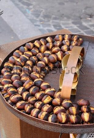 ızgara satış pazar eller meyve seyahat Stok fotoğraf © alessandro0770