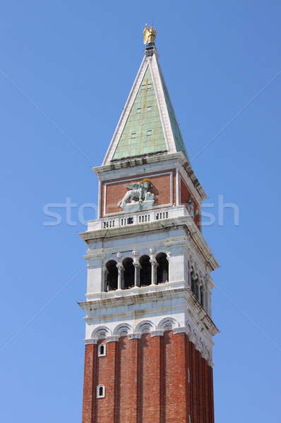 St. Marcus tower in Venice Stock photo © alessandro0770