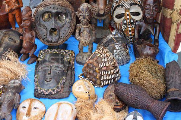 African masks Stock photo © alessandro0770