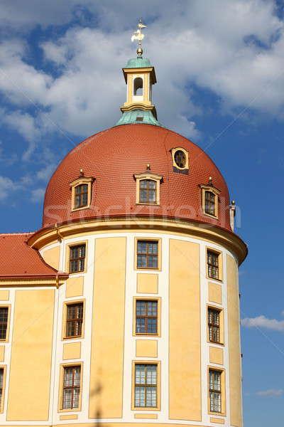 Tower of Moritzburg Castle Stock photo © alessandro0770