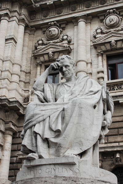 Meditating philosopher Stock photo © alessandro0770