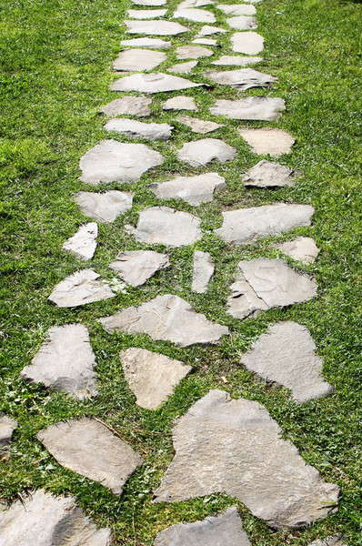 Walkway in a garden Stock photo © alessandro0770