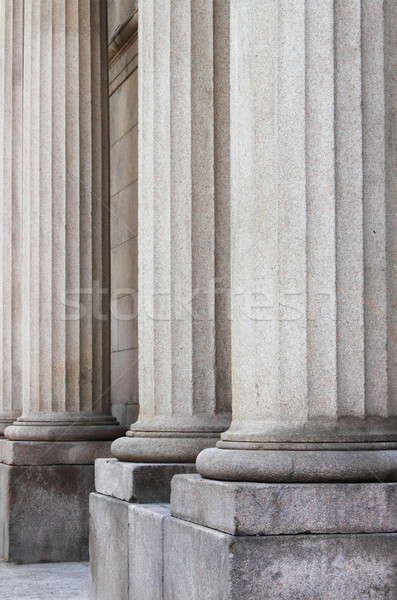 Granito romano colunas templo Roma Itália Foto stock © alessandro0770
