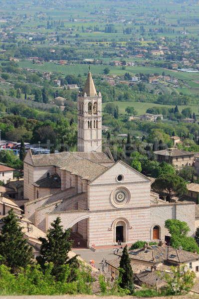 Kathedraal hemel gebouw landschap kerk Stockfoto © alessandro0770
