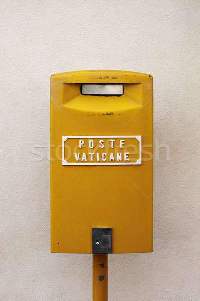 ストックフォト: バチカン · メールボックス · バチカン市国 · 金属 · にログイン · ボックス