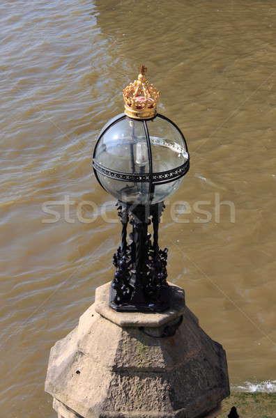 Royal street lamp Stock photo © alessandro0770