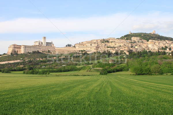 Stock photo: Panorama of Assisi