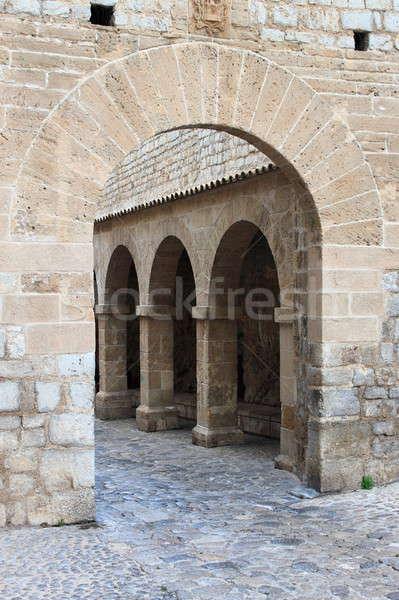 Armoury Court in Ibiza town Stock photo © alessandro0770