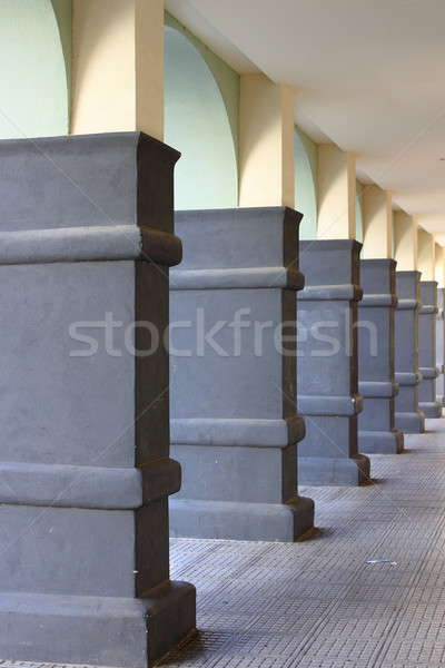 Modern colonnade Stock photo © alessandro0770