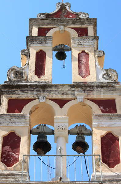 Orthodox bell tower in Corfu Stock photo © alessandro0770