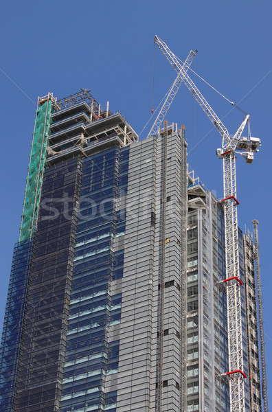 Construction of a skyscraper Stock photo © alessandro0770