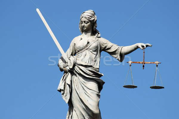 Statue of Lady Justice Stock photo © alessandro0770