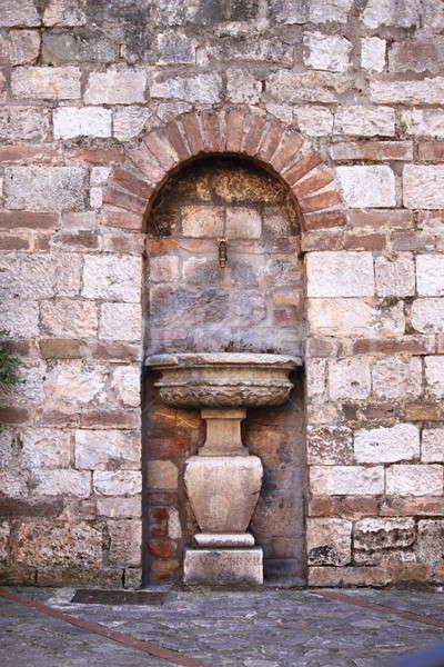 Ancient drinking fountain Stock photo © alessandro0770