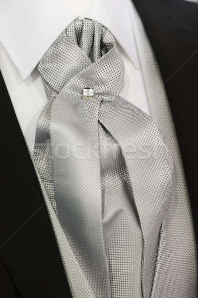 Elegant tie detail Stock photo © AlessandroZocc